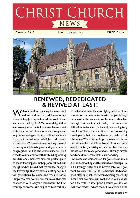 Christ Church Magazine Issue 16