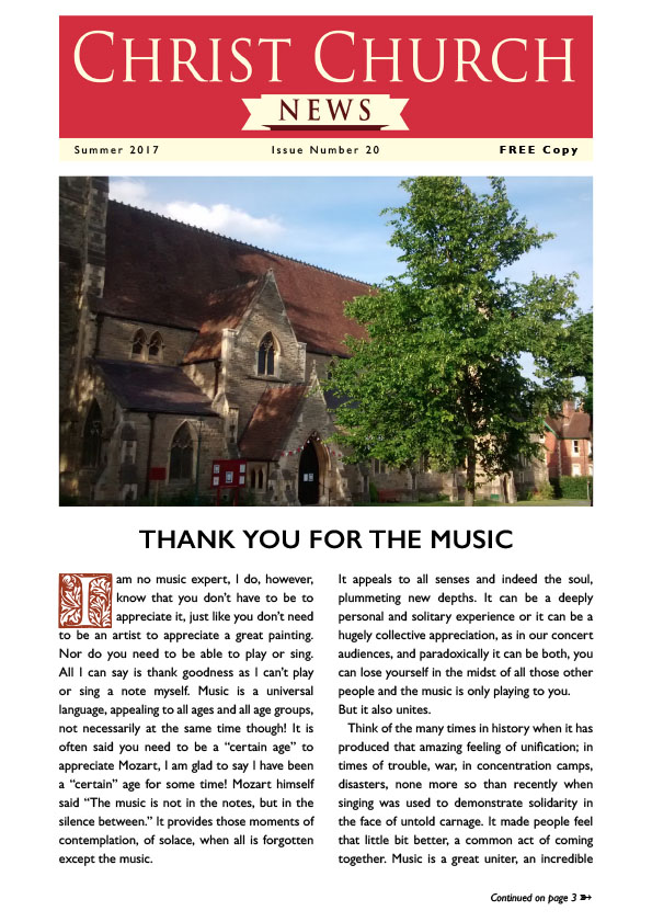 Christ Church Magazine Issue 20