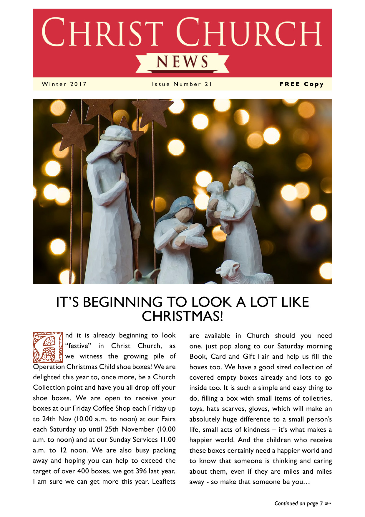 Christ Church Magazine Issue 21