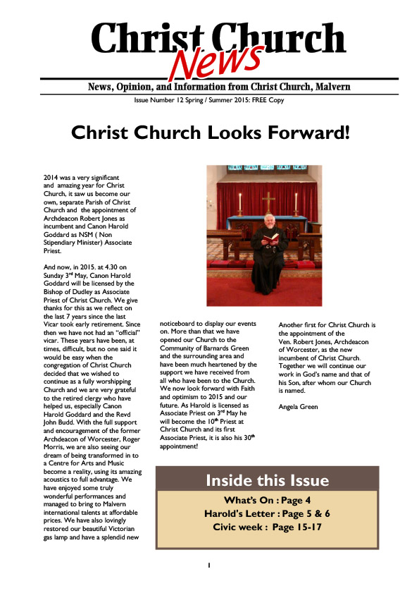 Christ Church Magazine Issue 12