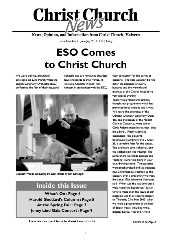 Christ Church Magazine Issue 2