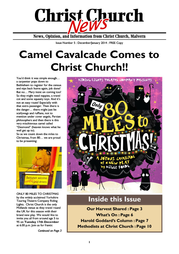 Christ Church Magazine Issue 5