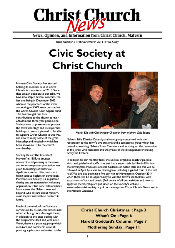 Christ Church Magazine Issue 6