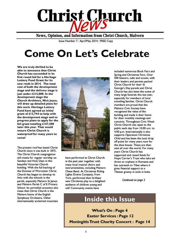 Christ Church Magazine Issue 7