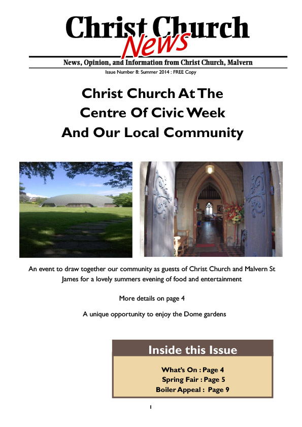 Christ Church Magazine Issue 8