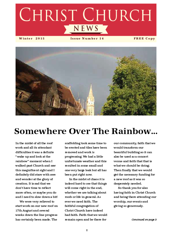 Christ Church Magazine Issue 14