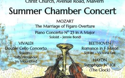 WSO Summer Chamber Concert Saturday 2 July