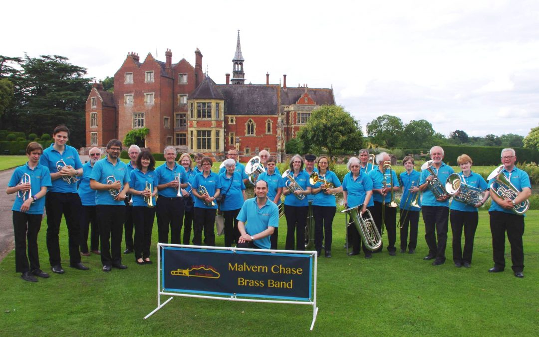 Malvern Chase Band plays carols at Christ Church – Sunday 4th December