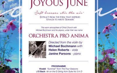 Concert Sunday 25 June – Orchestra Pro Anima