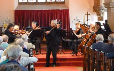 Michal Bochmann and Orchestra Pro Anima return to Christ Church Malvern