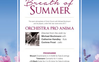 Orchestra Pro Anima return to Christ Church Malvern
