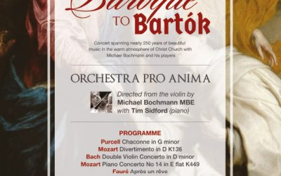 Our First Concert in 2020 is Orchestra Pro Anima