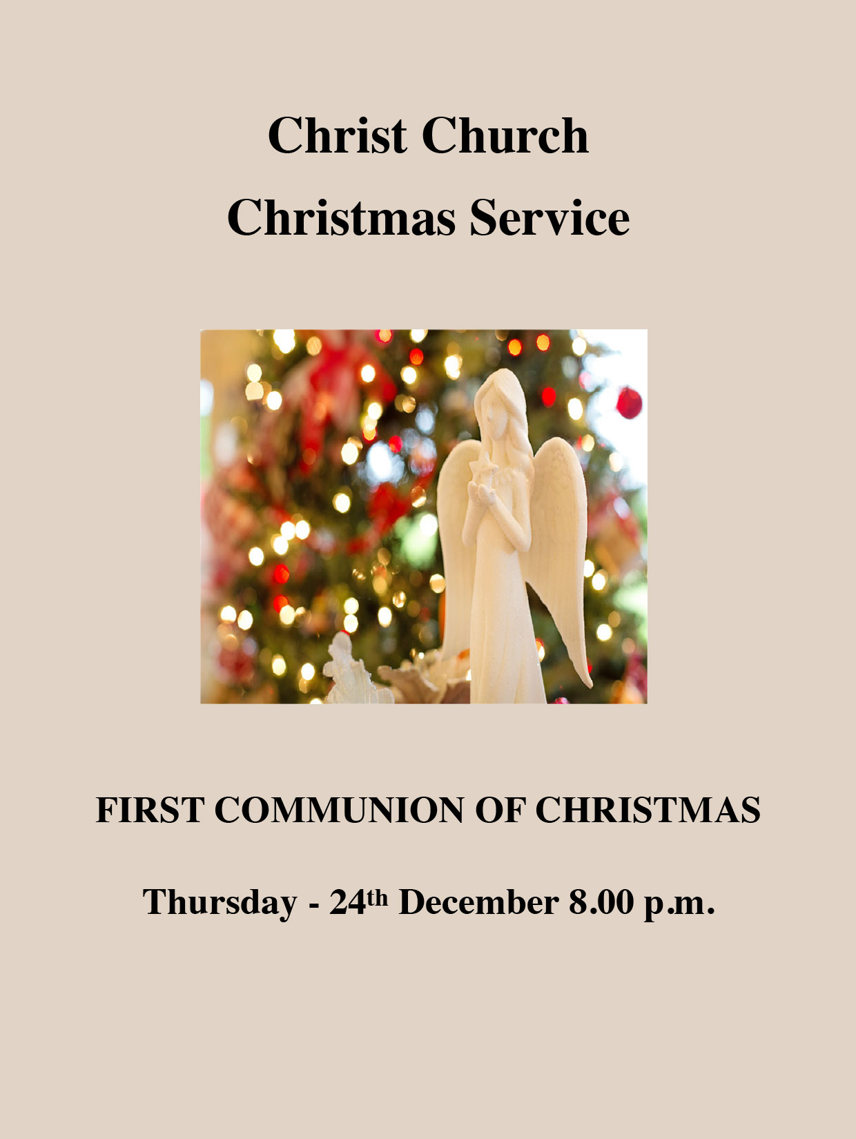 Christ Church Malvern Christmas Services